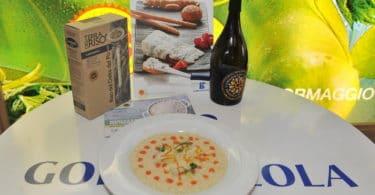cubetti di gorgonzola su risotto carnaroli (1)